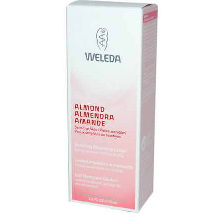 Weleda, Soothing Cleansing Lotion, Almond 75ml
