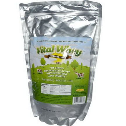 Well Wisdom, Vital Whey, Natural Cocoa 1.13 kg
