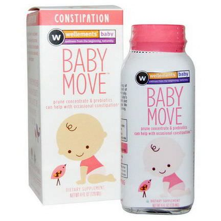 Wellements, Baby Move, Constipation 120ml