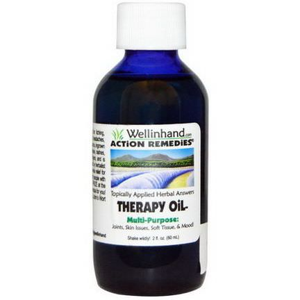 Wellinhand Action Remedies, Therapy Oil 60ml