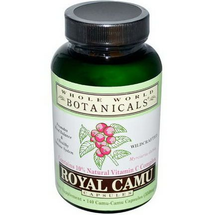 Whole World Botanicals, Royal Camu, 140 Capsules