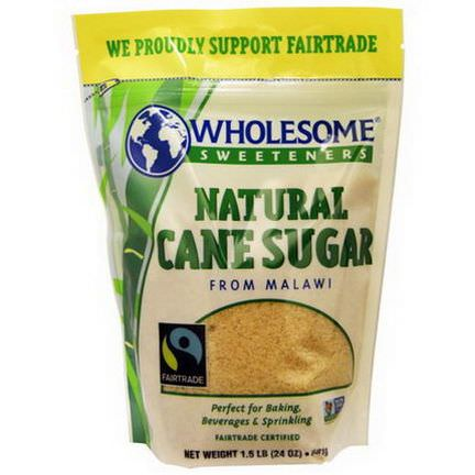Wholesome Sweeteners, Inc. Natural Cane Sugar 681g