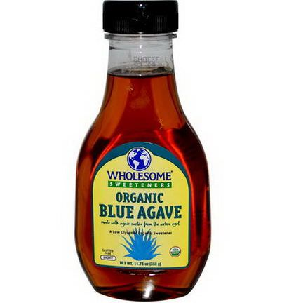 Wholesome Sweeteners, Inc. Organic Blue Agave, Light 333g