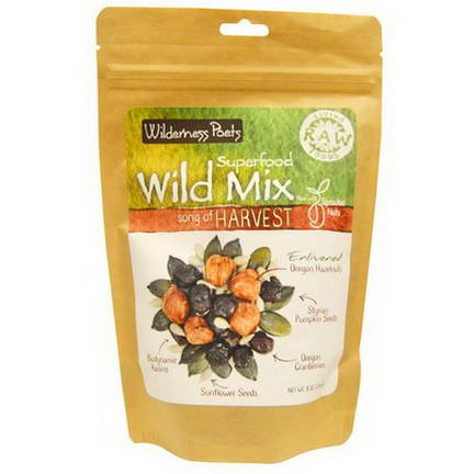 Wilderness Poets, Superfood Wild Mix, Song of Harvest 226.8g