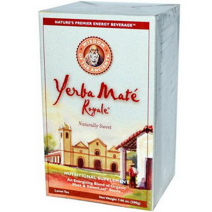 Wisdom Natural, Wisdom of the Ancients, Yerba Mate Royale, Loose Tea 200g