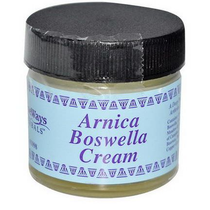 WiseWays Herbals, LLC, Arnica Boswella Cream, 1 oz