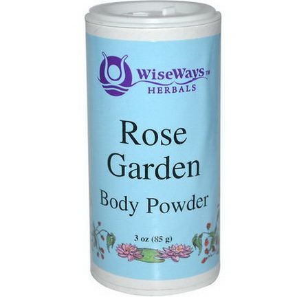 WiseWays Herbals, LLC, Rose Garden Body Powder 85g