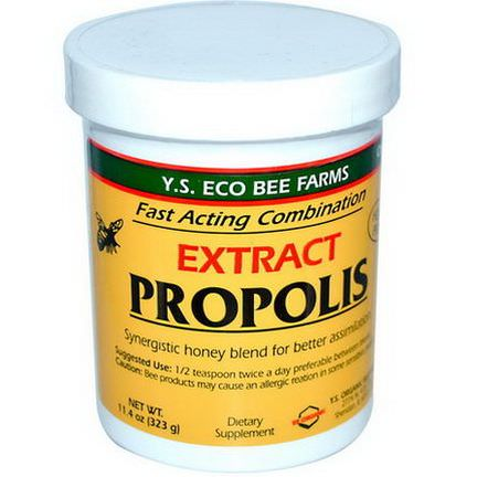 Y.S. Eco Bee Farms, Propolis, Extract 323g