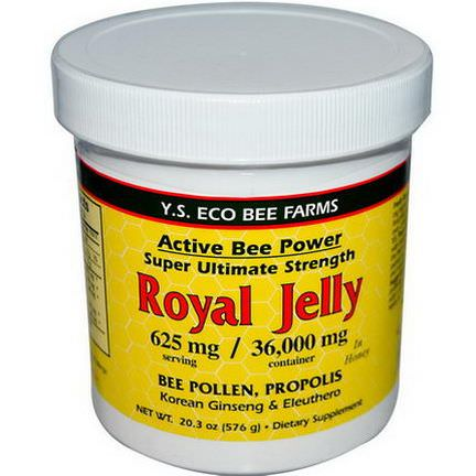 Y.S. Eco Bee Farms, Royal Jelly 576g