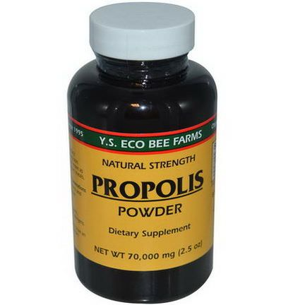 Y.S. Eco Bee Farms, Propolis Powder 70,000mg