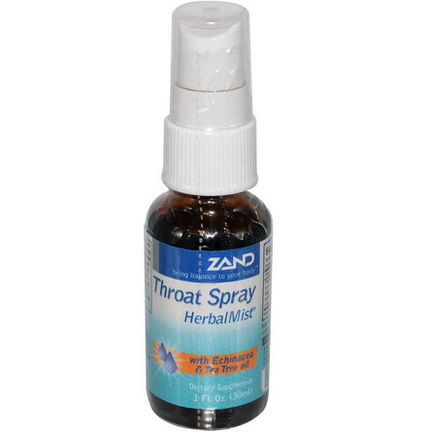 Zand, Throat Spray, Herbal Mist 30ml