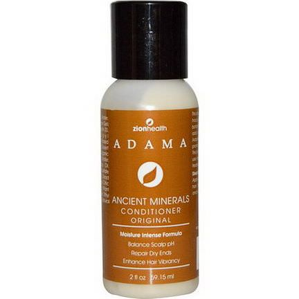 Zion Health, Adama Ancient Minerals Conditioner, Original 59.15ml