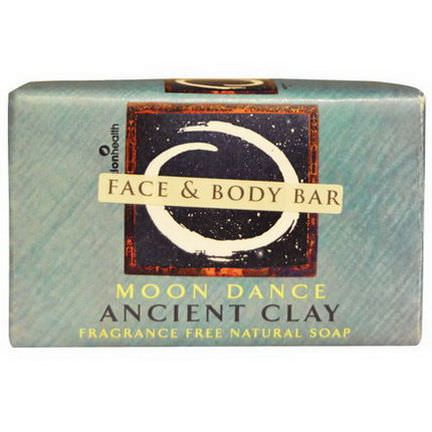 Zion Health, Ancient Clay Natural Soap, Moon Dance, Fragrance Free 170g