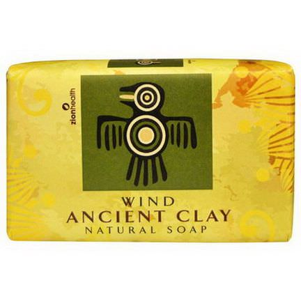 Zion Health, Ancient Clay Natural Soap, Wind 170g