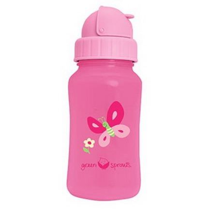 iPlay Inc. Green Sprouts, Aqua Bottle, Pink 300ml