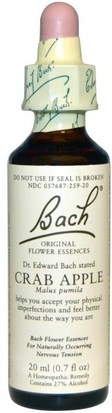 Salud Bach, Original Flower Essences, Crab Apple, 0.7 fl oz (20 ml)