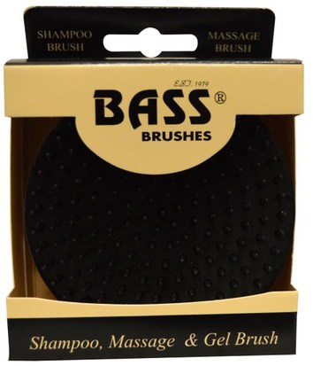 Baño, Belleza, Cepillos Para El Cabello Bass Brushes, Shampoo, Massage & Gel Brush, Soft Nylon Bristle, 1 Brush