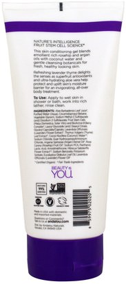 Andalou Naturals, Shower Gel, Refreshing, Lavender Thyme, 8.5 fl oz (251 ml) Baño, Belleza, Baño De Argan, Gel De Ducha