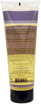 Deep Steep, Body Wash, Lavender - Chamomile, 8 fl oz (237 ml) Baño, Belleza, Manteca De Karité, Gel De Ducha