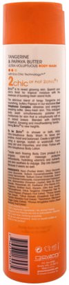 Giovanni, 2Chic, Ultra-Voluptuous Body Wash, for All Skin Types, Tangerine & Papaya Butter, 10.5 fl oz (310 ml) Baño, Belleza, Gel De Ducha