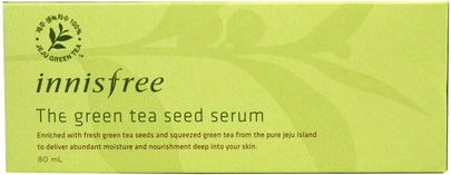 Innisfree, The Green Tea Seed Serum, 80 ml Belleza, Cuidado Facial, Lociones Cremas, Sueros