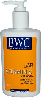 Belleza, Cuidado Facial, Piel, Vitamina C Beauty Without Cruelty, Vitamin C, With CoQ10, Facial Cleanser, 8.5 fl oz (250 ml)