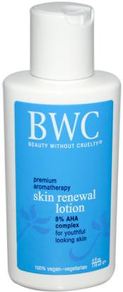 Belleza, Cuidado Facial, Lociones Cremas, Sueros Beauty Without Cruelty, Skin Renewal Lotion, 4 fl oz (118 ml)