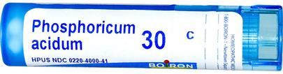 Sueño Y Anti Estrés Boiron, Single Remedies, Phosphoricum Acidum, 30C, Approx 80 Pellets
