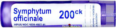 Dolor-Trauma Boiron, Single Remedies, Symphytum Officinale, 200CK, Approx 80 Pellets
