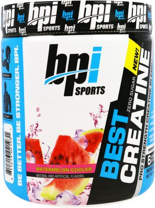 Deportes, Creatina, Entrenamiento BPI Sports, Best Creatine, Pro Strength Creatine Blend, Watermelon Cooler, 10.58 oz (300 g)