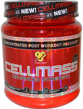 Deportes, Deporte, Musculatura BSN, Cellmass 2.0, Concentrated Post Workout Recovery, Watermelon, 1.06 lbs (485 g)