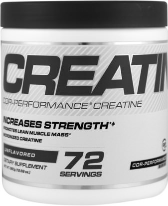 Deportes, Creatina Cellucor, Cor-Performance Creatine, Unflavored, 12.69 oz (360 g)