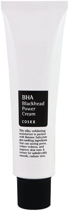 Belleza, Cuidado Facial Cosrx, BHA Blackhead Power Cream, 1.69 fl oz (50 ml)