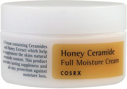 Belleza, Cuidado Facial Cosrx, Honey Ceramide Full Moisture Cream, 50 ml