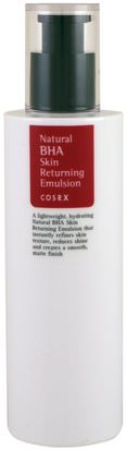 Baño, Belleza, Salud Cosrx, Natural BHA Skin Returning Emulsion, 100 ml