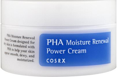 Belleza, Cuidado Facial Cosrx, PHA Moisture Renewal Power Cream, 1.69 fl oz (50 ml)