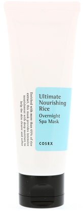 Belleza, Máscaras Faciales Cosrx, Ultimate Nourishing Rice, Overnight Spa Mask, 2.02 fl oz (60 ml)