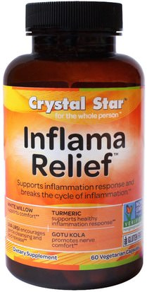 Salud, Anti Dolor Crystal Star, Inflamma Relief, 60 Veggie Caps