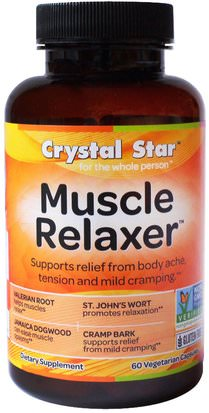Salud Crystal Star, Muscle Relaxer, 60 Veggie Caps