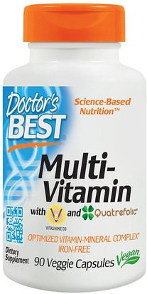 Vitaminas, Multivitaminas Doctors Best, Multi-Vitamin, 90 Veggie Caps