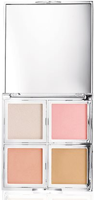 Baño, Belleza, Maquillaje E.L.F. Cosmetics, Beautifully Bare, Natural Glow Face Palette, Fresh & Flawless, 0.56 oz (16 g)