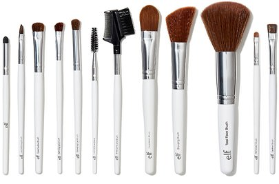 Herramientas / Cepillos E.L.F. Cosmetics, Essential Professional Complete Brush Set, 12 Brushes