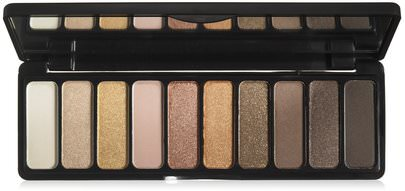 Ojos E.L.F. Cosmetics, Eyeshadow Palette, Need It Nude, 0.49 oz (14 g)