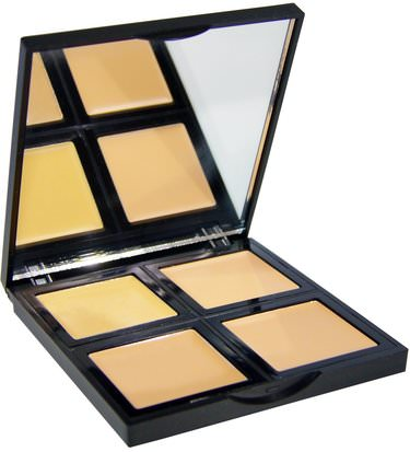 Cara E.L.F. Cosmetics, Foundation Palette, Fair/Light, 0.43 oz (12.4 g)