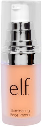 Cara E.L.F. Cosmetics, Illuminating Face Primer, Radiant Glow, 0.47 fl oz (14 ml)