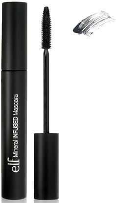 Ojos E.L.F. Cosmetics, Mineral Infused Mascara, Black, 0.28 oz (8 g)