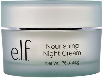 Protección De La Piel E.L.F. Cosmetics, Nourishing Night Cream, 1.76 oz (50 g)