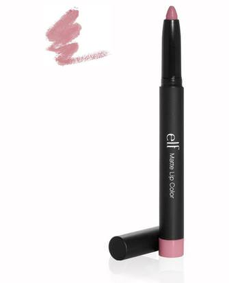 Labios E.L.F. Cosmetics, Studio Matte Lip Color, Tea Rose, 0.06 oz (1.8 g)