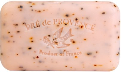 Baño, Belleza, Jabón European Soaps, LLC, Pre de Provence, Bar Soap, Juicy Pomegranate, 5.2 oz (150 g)