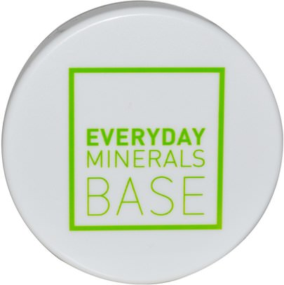 Everyday Minerals, Matte Base, Golden Fair 0W.17 oz (4.8 g) Minerales Cotidianos Base Mate, Baño, Belleza, Polvo Compacto